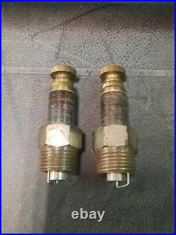 1901 Vintage Spark Plug Perfection Antique Auto motorcycles trog 2 plugs