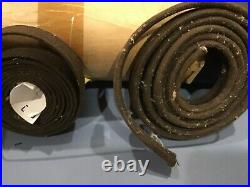 1920s 1930s Packard front seat floor covering and cloth hood welting see photos
