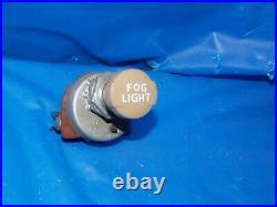 1930s 1940s Original Vintage Accessory Fog Light Switch Chevy Ford Flat Head