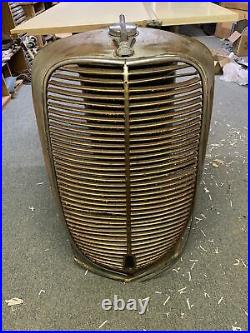1937 Ford Truck GRILLE SHELL Complete Original Pickup Panel Radiator Cap & Trim