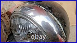 1938 1939 Ford Truck HEADLIGHT ASSEMBLIES Original pair SEALED BEAM Conversion