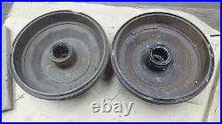1940 1941 1942 1946 Ford REAR BRAKE DRUMS HUBS Original pair 1947 1948