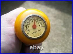 1940s Auto Thermometer Shift knob Vintage Chevy Rat Hot Rod Harley motorcycle