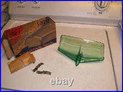 1950s Antique Automobile Aero-dynamic nos Deflector Vintage Chevy Ford Jalopy VW