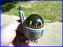 1950s Antique Compass Automobile Accessory Airguide Vintage Chevy Hot Rat Rod