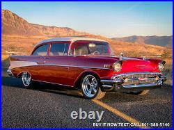 1957 Chevrolet Bel Air/150/210 LS SWAP 480HP LS6 4L65e CURRIE VINTAGE AIR