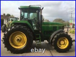1994 John Deere 7700 Tractor 150hp 40K PowerShift 3SCV 9884 Hours Vintage Retro