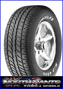 2456015 245/60r15 245/60x15 Radial Car Tyre Rwl Hercules Hot Rod Hp4000 Vintag