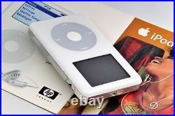Apple iPod Classic 4th Generation 20gb HP In Original Box Rare Vintage
