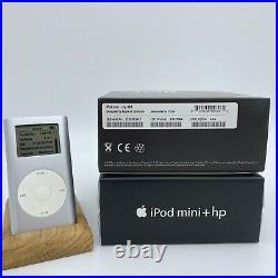 Apple iPod Mini + Hp 2nd Generation 4gb Very Rare Vintage Collectors