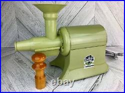 Champion Juicer Heavy Duty 1/3 HP Masticating Electric World's Finest Vintage