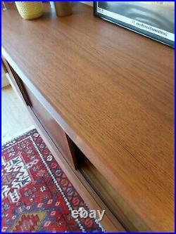 Danish Mid Century Teak Sideboard by H P Hansen, mobler vintage