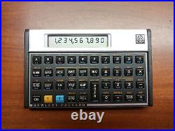 Excellent Vintage Hewlett Packard HP 16C Programmable Calculator with Case/Cover