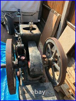 Fairbanks Morse Z Throttle governed, 1916 Stationary engine 3hp all original