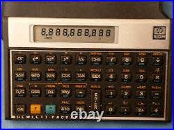 HP 15c Vintage Scientific Calculator with Soft case made in the USA