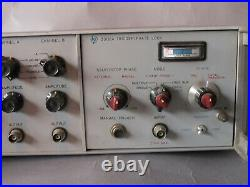 HP 3300A Function Generator + 3302A Trigger/Phase Lock Hewlett-Packard Vintage