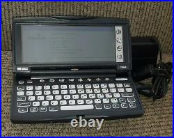 HP 620LX Windows CE Pocket PC PDA w Power Supply WORKS TESTED 80's VTG computer