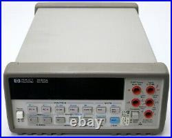 HP Agilent 34401A 6 1/2 Digit Digital Multimeter