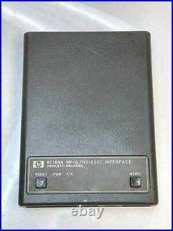HP-IL / RS-232C Interface for HP 41C/CV/CX 71B Calculators Vintage