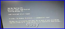 HP OmniBook 800CT Vintage Laptop-Windows 95 w bonus External Floppy Disc Drive
