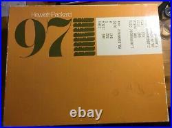 HP97 Vintage Calculator 1976 Hewlett-Packard
