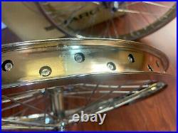 Haro Vintage Hpf Wheel Set 48 Chrome Sealed Wheels Peregrine Super Pros HP Retro