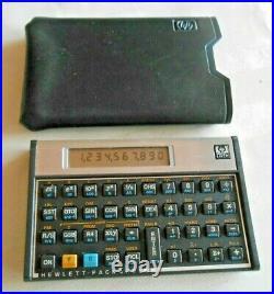 Hewlett Packard HP 15c Vintage Scientific Calculator #2809a62672 USA