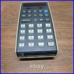 Hp-21 Rare Woodstock Vintage Calculator Mib Works Perfectly