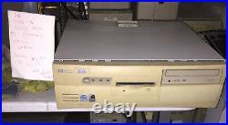 Hp Vectra Desktop ATX Tower Case Pentium Pro Motherboard Vintage D6