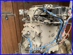 Johnson Outboard Engine, Vintage V4 1960s Meteor 100hp Long shaft Two Stroke