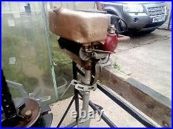 Johnson vintage outboard motor 1925 light twin 4hp west bend