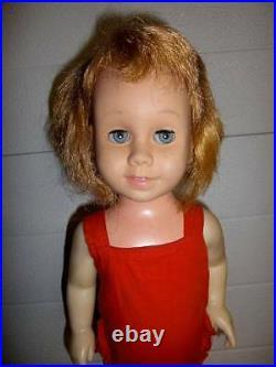 Mattel, Inc. Vintage Chatty Cathy Vinyl/HP 19 Doll