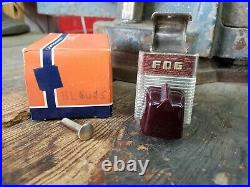 NOS 1930s 1940s 1950s Accessory Under Dash Fog Light Switch cathedral Bomb