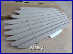 NOS 1938 1940 Ford REAR WINDOW SHADE Venetian Blinds original Vintage Accessory