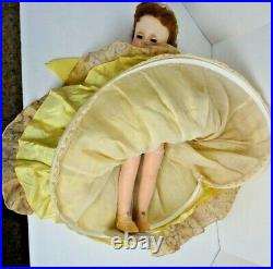 Nancy Ann Show Style doll, 17 HP, Summer Resort auburn hair, toy, green eyes