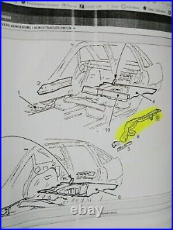 New + Orig Vauxhall Vectra A Repair Main Girder Rear Right Frame Carrier