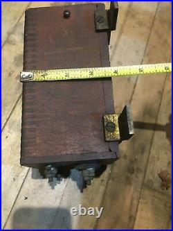 Original 1910-20 Early Brass Car Ignition Coil for Parts/Restoration OEM Auto