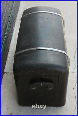 Original 1920's 1930's Watts-Morehouse Steelwood Luggage Trunk Ford Packard GM