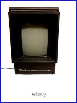 Original Vectrex Video Arcade Game System Console 1982 HP 3000 Vintage