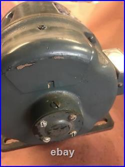 Parks Craftsman 12 Planer Motor 1 HP 115/230 3450 RPM Early Vintage