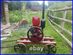 Petter M 1.5HP 1920's Vintage Stationary Engine Great Condition Ruston Hornsby