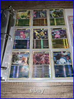 Pokemon Card Vintage LEGENDARY COLLECTION Binder + PSA GRADED EX CARD NM-HP