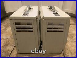 RARE Lot of 2 Vintage Hewlett Packard HP Integral Personal Computer PC