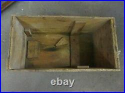 RARE Vintage 1929 Evinrude ELTO 3.5 HP folding shaft outboard motor box NICE