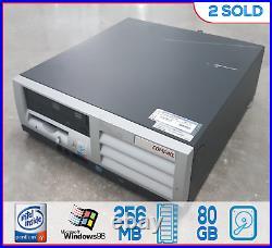 RETRO VINTAGE HP Windows 98 SE / DOS Computer Pentium 4 Windows 98 Win98 40GB