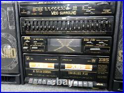 Silva GDP 691 HP Ghettoblaster Vintage FM/AM/LWithSW AUX Phono TAPE 80´s
