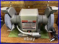 VINTAGE CRAFTSMAN 3/4 Hp 7 LIGHTED BENCH GRINDER NEVER USED