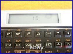 VINTAGE HP-10C Programmable Scientific Calculator with Case#