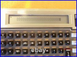 VINTAGE HP-71B Programmable BASIC Pocket Computer