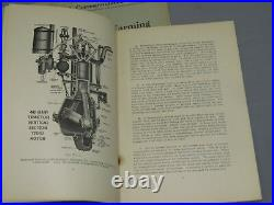 VTG HART PARR Tractor 1913 OLD RELIABLE 40 60 HP Traction Farming Manual LOT o 8